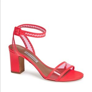 Tabitha Simmons Leticia Pink Ankle Strap Sandal 37